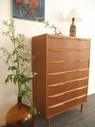 Danish sixties teak drawer