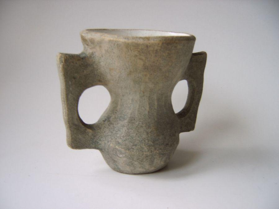 Spiksplinternieuw Jaap Ravelli aardewerk vaas - object - Vintage Living Shop NE-23