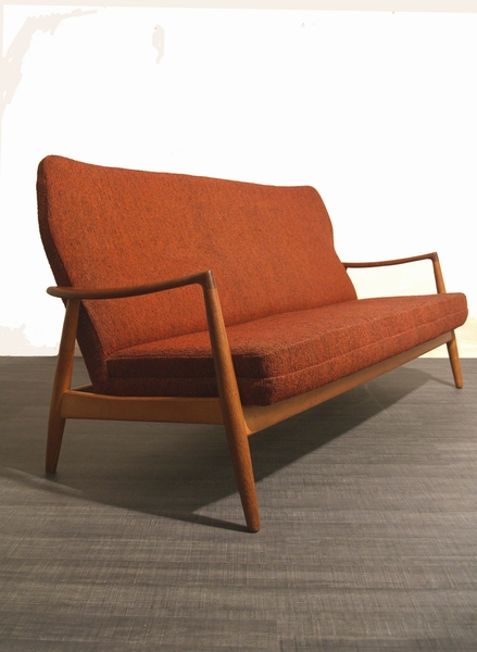 Bank Deens Design.Aksel Bender Madsen Bank Sofa Voor Bovenkamp Deens Design Vintage