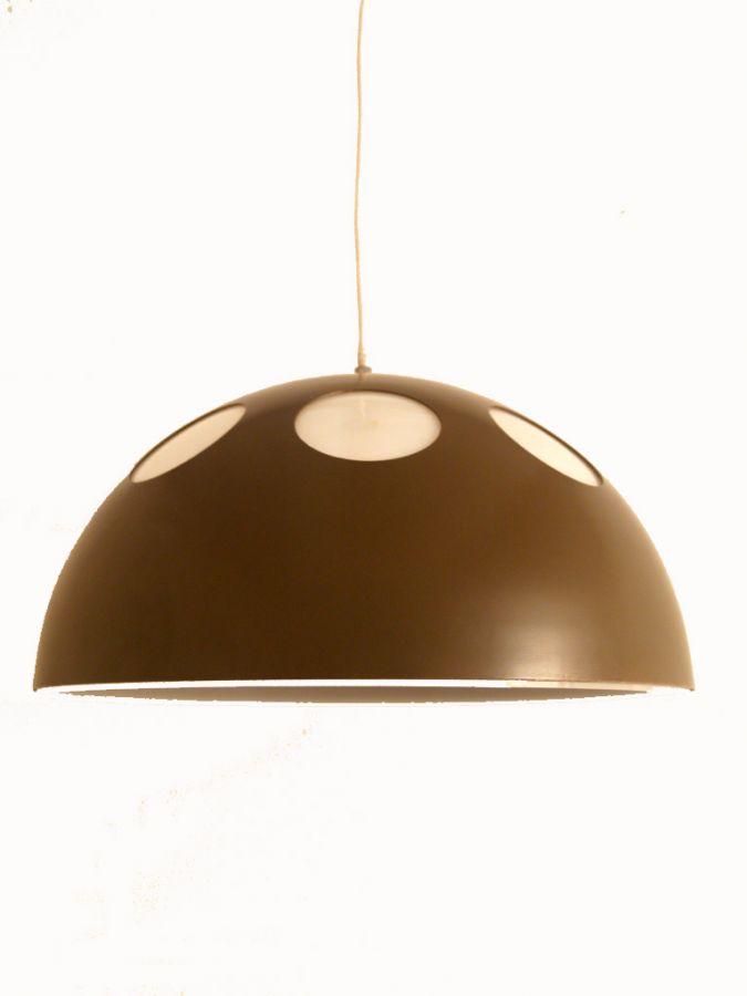 Raak Amsterdam hanglamp / plafondlamp. jaren 60 retro lamp. - Vintage ...