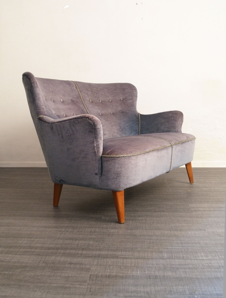 Design Meubelen Jaren 50.Theo Ruth Sofa Bank Voor Artifort Jaren 50 Design Vintage